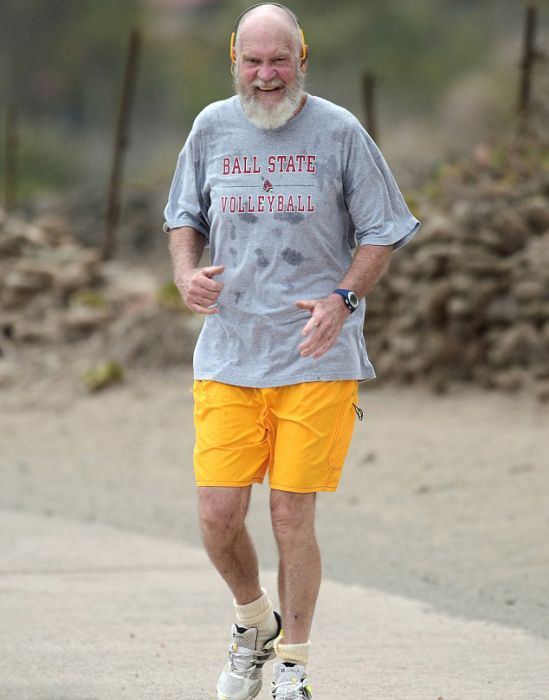 David Letterman Has Drastically Changed His Look Since He's Retired (12 pics)