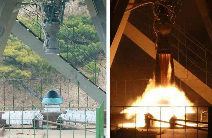 North Korea Completes Tests On A New Rocket Engine (6 pics)