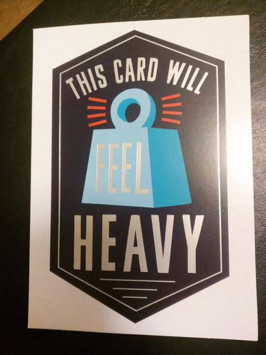 Guy Uses A Clever Card To Dump His Cheating Girlfriend (4 pics)