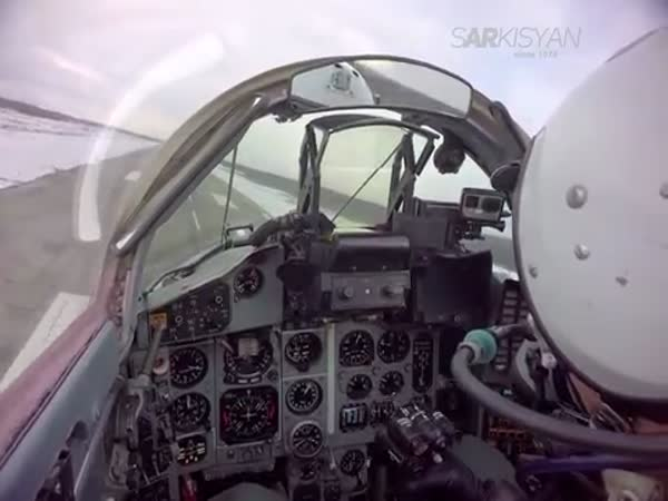 MiG29 Short Landing