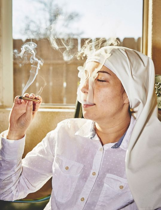 These Nuns Are Trying To Save The World With Weed (18 pics)