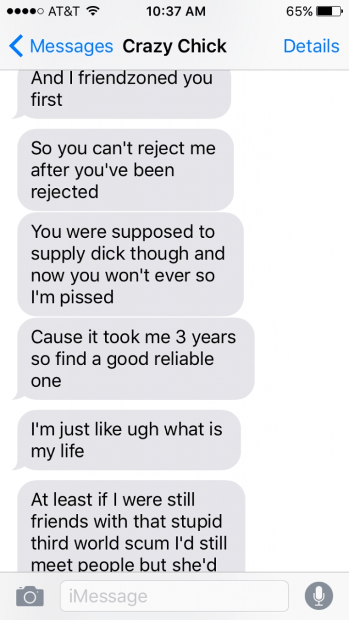 Angry Ex-Girlfriend Goes On The Most Insane Text Rant Ever (10 pics)