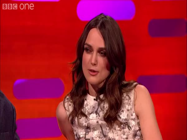 Keira Knightly Talks About Her Sex Faces On The Graham Norton Show
