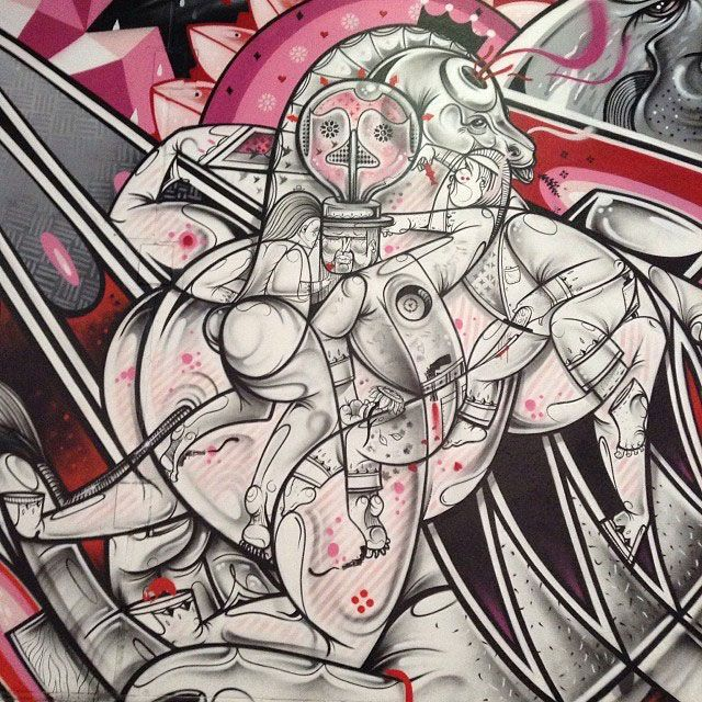 The Duo Of How And Nosm Make Ridiculously Awesome Art (24 pics)