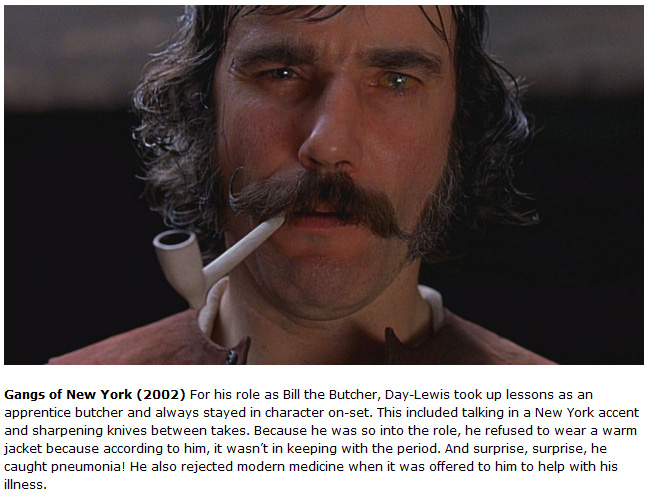 Daniel Day Lewis Is The Ultimate Method Actor (11 pics)
