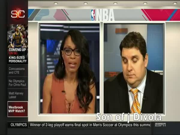 Is Brian Windhorst Sleeping
