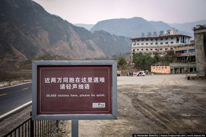 The Beichuan Earthquake Museum Is A Haunting And Incredible Site (44 pics)