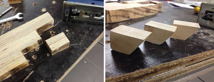This Student Crafted An Amazing Handmade Wooden Computer Case (17 pics)