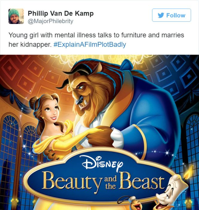 Twitter Did A Great Job Of Explaining Film Plots Badly (20 pics)