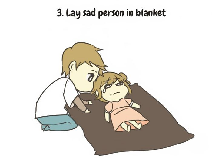 Tips That Will Help You Take Care Of A Sad Person (11 pics)