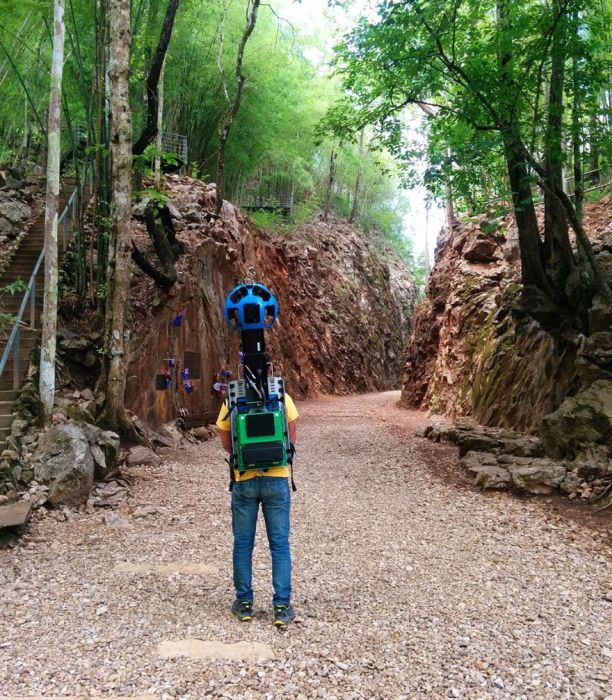 Street View Guy Walks 500 km To Capture Thailand's Most Beautiful Areas (10 pics)