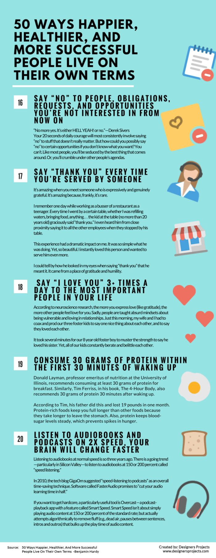 50 Different Ways That Happy And Successful People Live On Their Own Terms (10 pics)