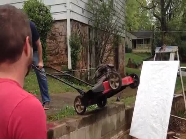 Paint Can Lawn Mower Explosion Arts And Crafts With Uncle Rob