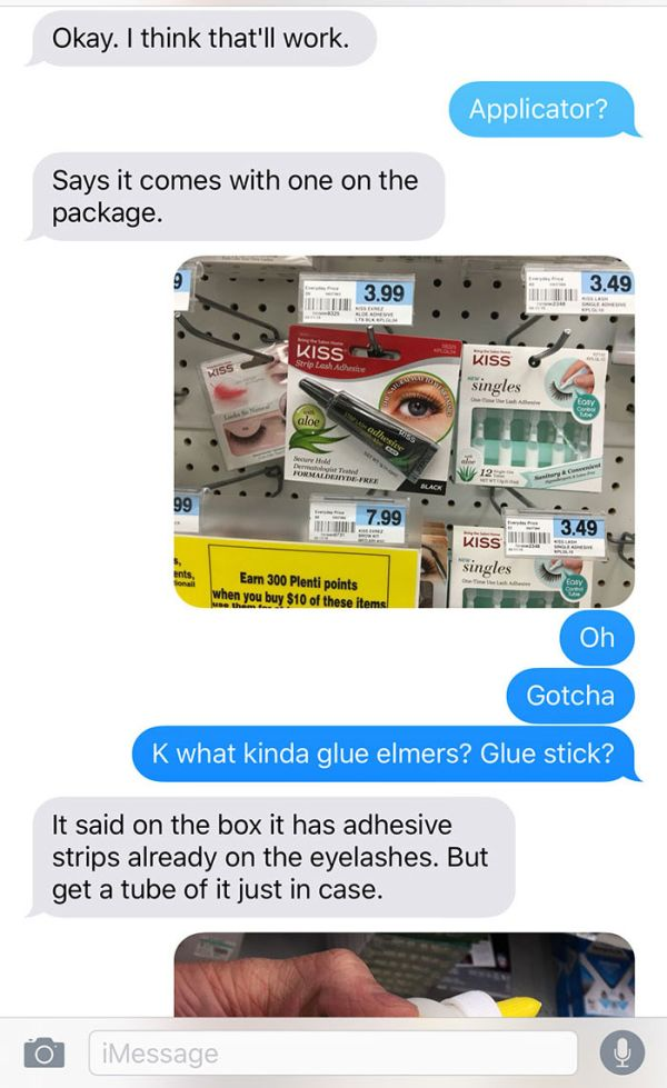 Girl Makes A Terrible Mistake By Asking Her Boyfriend To Buy Makeup (14 pics)