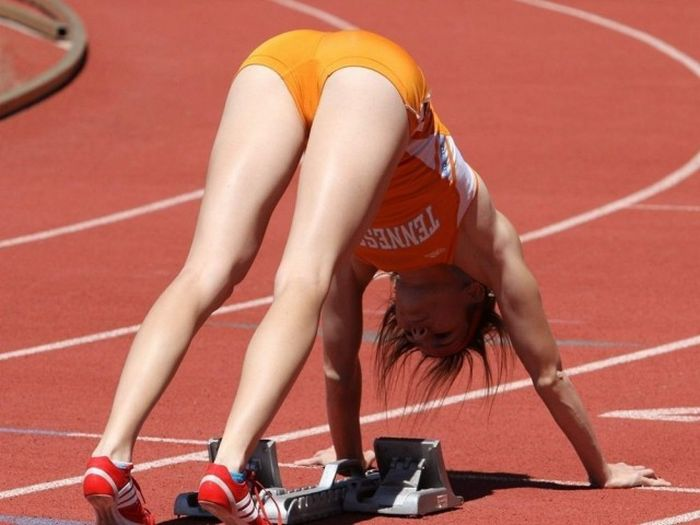 hot sports girl nude