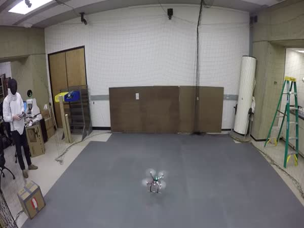 Fencing A Quadrotor Dynamic Obstacle Avoidance