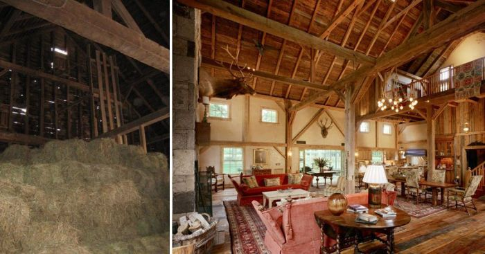Old Barn From The 1800s Undergoes An Incredible Transformation (7 pics)
