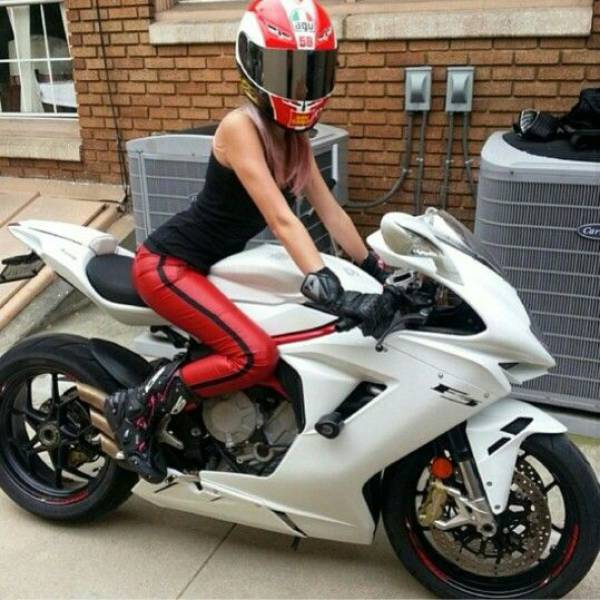 Sexy Girls And Motorcycles Are A Perfect Combination 50 Pics