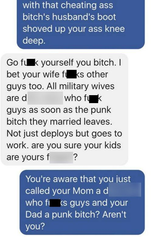 Guy Cheating With Soldier's Wife Gets Absolutely Destroyed By His Friend (10 pics)