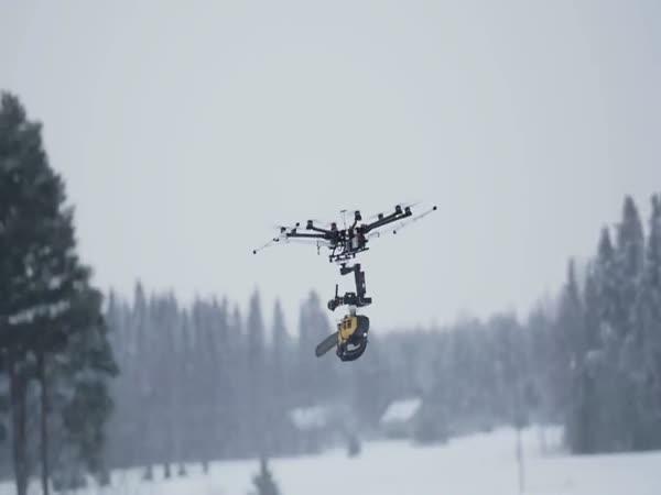 Drone Chainsaw