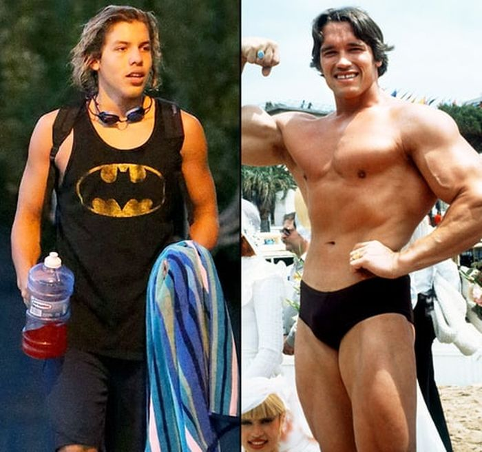 Arnold Schwarzenegger's Son Is Growing Up To Look A Lot Like His Dad (10 pics)