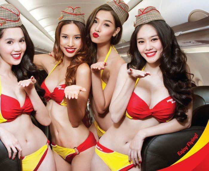 Vietnam's Bikini Airline Is Making Some Serious Bank (12 pics)