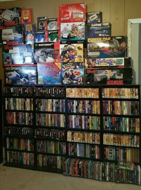 American Man Selling His Video Game Collection For $150,000 (7 pics)