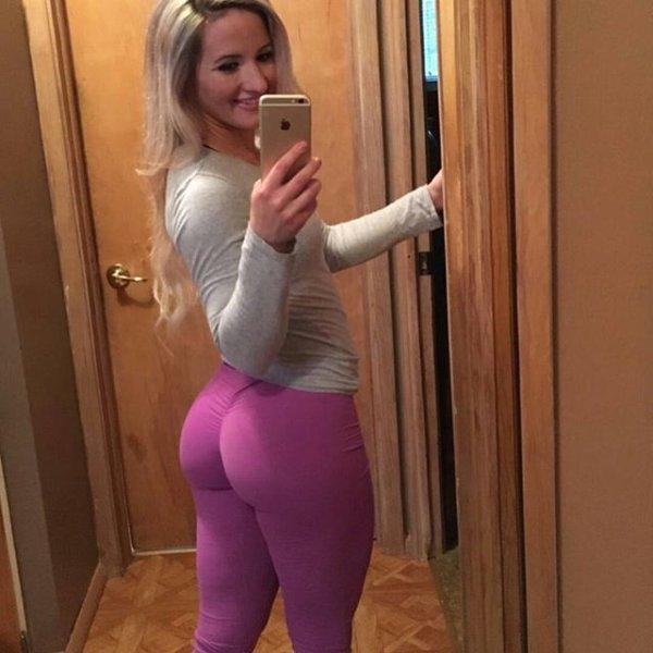 Teens In Yoga Pants