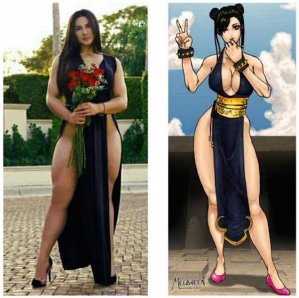 This Fitness Model Has Legs Like Chun-Li From Street Fighter (21 pics)