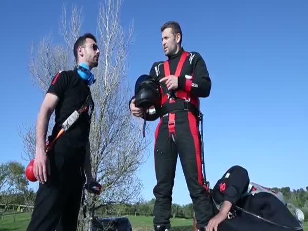 Flyboard Air Test