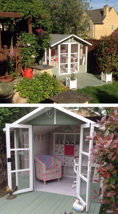 She Sheds That Could Give Any Man Cave A Run For Its Money (54 pics)