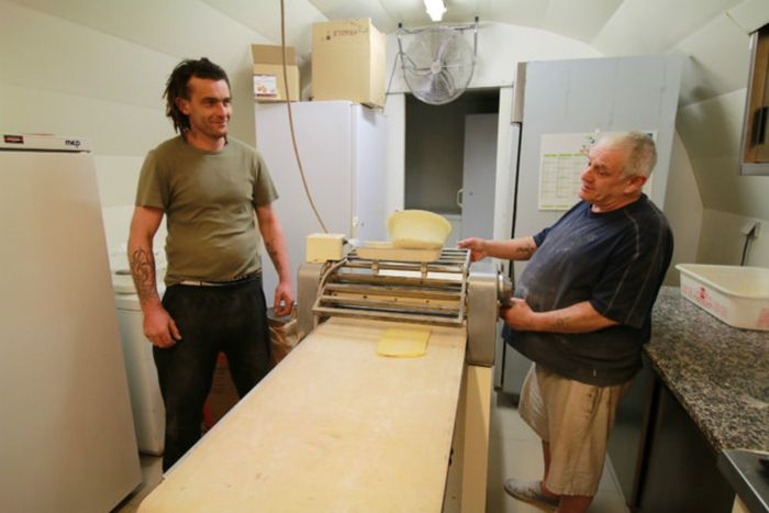 Bakery Owner Sells His Business To A Homeless Man For One Euro (11 pics)