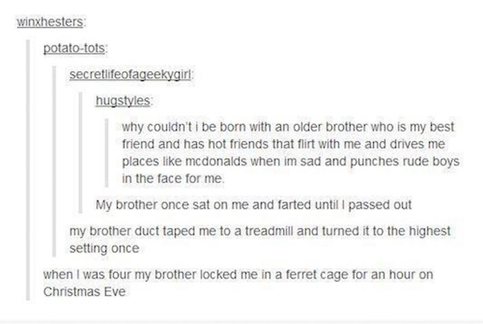 Life Is So Much More Fun When You Have Siblings (18 pics)