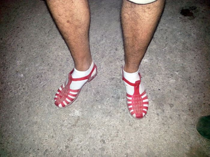 You'll Never Wear Socks With Sandals Again After Seeing These Pictures (18 pics)