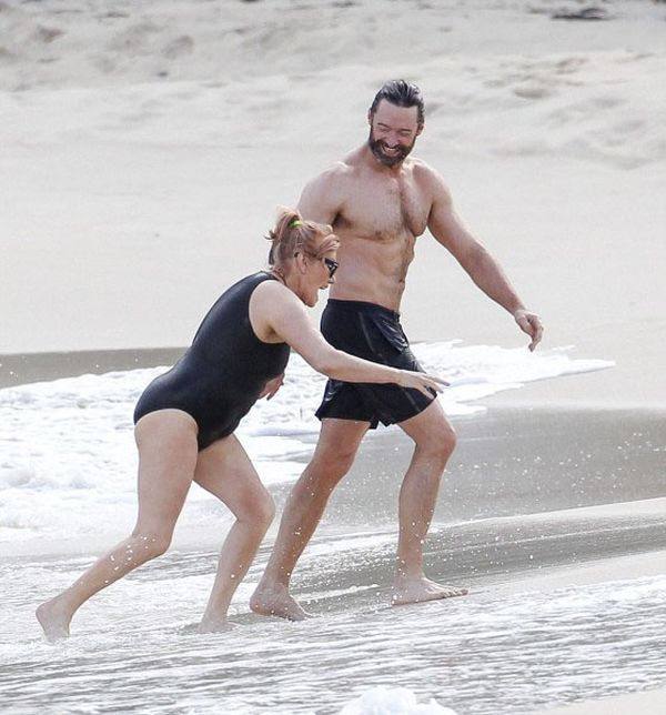Hugh Jackman And His Wife Celebrate Their 20th Anniversary In St. Barts (5 pics)