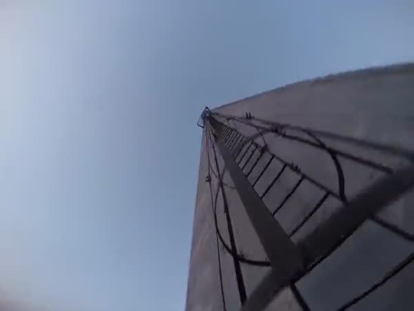 Human Flag On 360 Meters