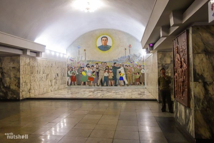 North Korea Opens Up More Subway Stations To Foreigners (8 pics)