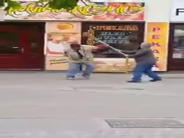 Broom Fight
