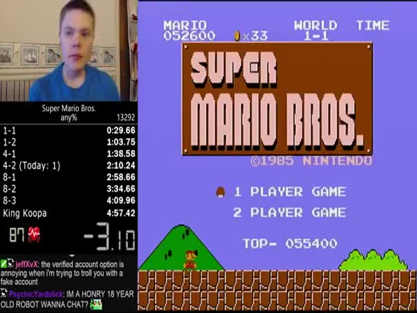 Super Mario Speedrun World Record