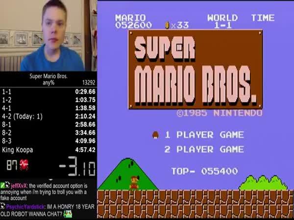 Super Mario Speedrun World Record