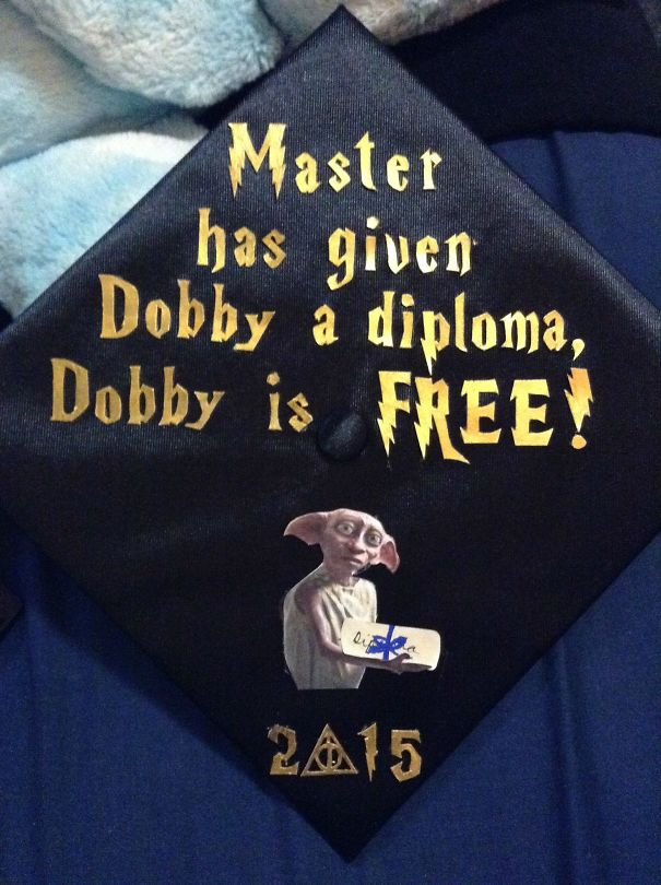 Awesome Students Who Totally Nailed It With Their Funny Graduation Caps (29 pics)
