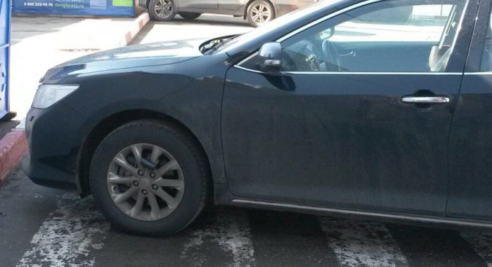 This Person Is Really Going To Regret Parking In This Spot (2 pics)