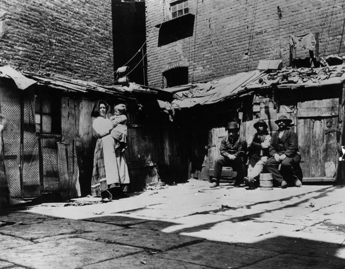 What The Slums Of New York Looked Like In The 1870s (27 pics)