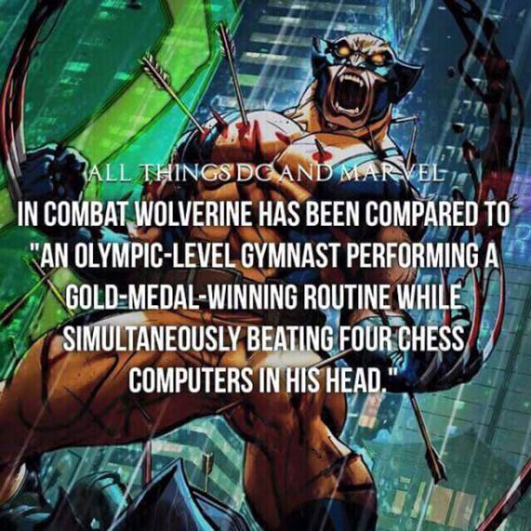 Superhero Facts To Help You Power Up Your Brain (33 pics)