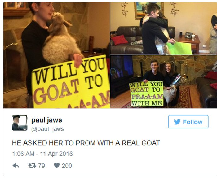People Who Found Clever And Creative Ways To Ask Their Dates To Prom (24 pics)