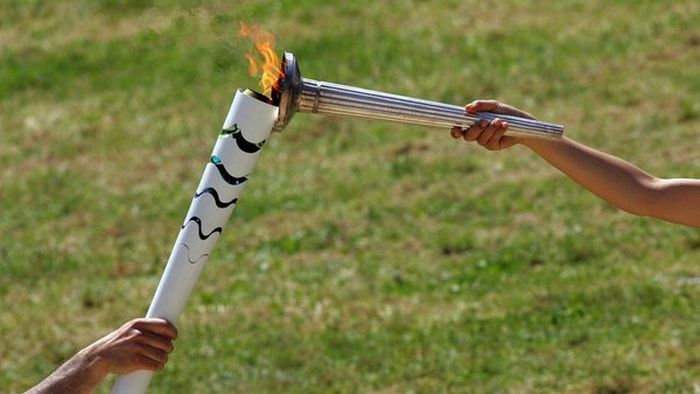 The 2016 Olympic Torch Has Officially Been Lit (5 pics)