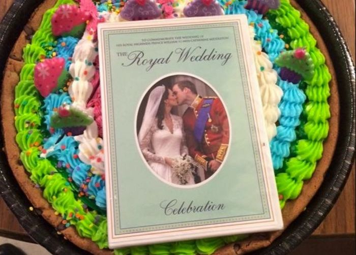 Guy Trolls His Friend With 120 Copies Of The Royal Wedding On DVD (14 pics)