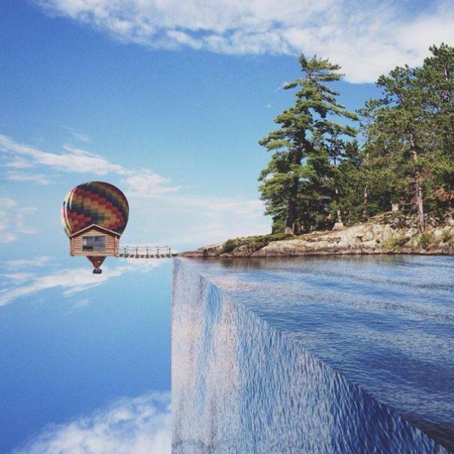 Photographer Turns Dreams Into Reality With Surreal Images (25 pics)