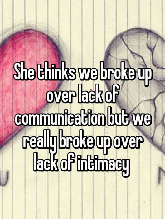 Men And Women Reveal Their True Reasons For Breaking Up (20 pics)