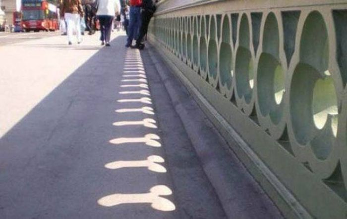 Shadows Can Be Used To Make Any Photo Look Dirty (30 pics)
